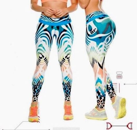BF Leggings Active Wear Pant Gym Yoga Sportswear Lift Shape Animal Print A27 | eBay