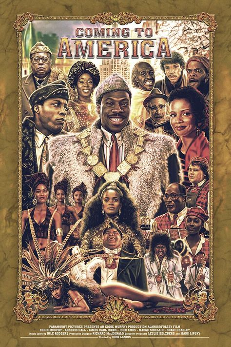 Coming To America, Eddie Holly