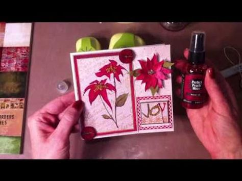 Cindy's Creative Inspirations McGill Paper Blossoms Poinsettia