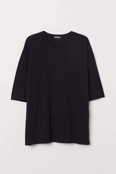 H&M Oversized T-shirt - Black