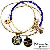 New York Yankees Alex and Ani Limited Edition Bangle Bracelet Set  - MLB.com Shop