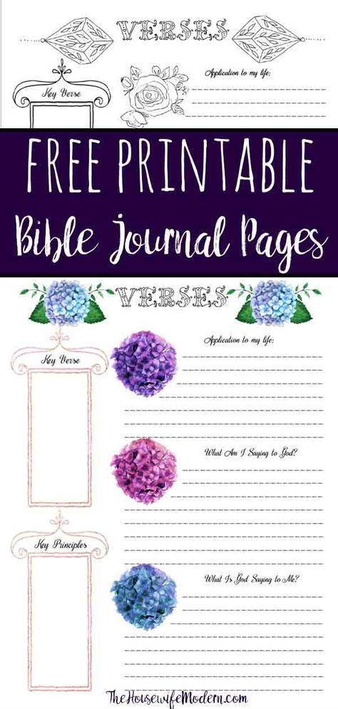 graphic relating to Free Printable Bible Journaling Pages named No cost Bible Journaling Printables (Which includes A single Oneself Can
