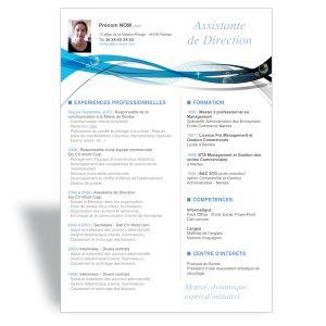 modele cv bleu antoine fedal (antoinefedal) on Pinterest modele cv bleu