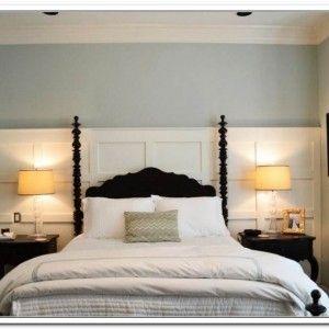 Diy Wood Panel Headboard Desain Interior Interior Desain Interior Rumah