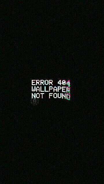 Error 404 Wallpaper Not Found Error Wallpaper Lock Screen