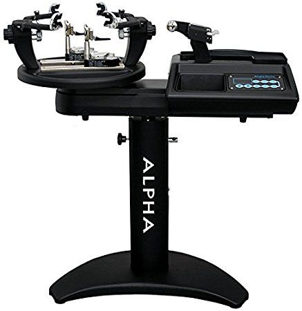 Alpha Ghost 2 Electronic Stringing Machine Tennis Stringing Machine Tennis Stringing