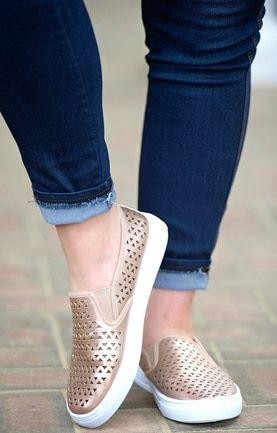 Can T Stop My Shine Sneakers Rose Gold Zapatos Hermosos