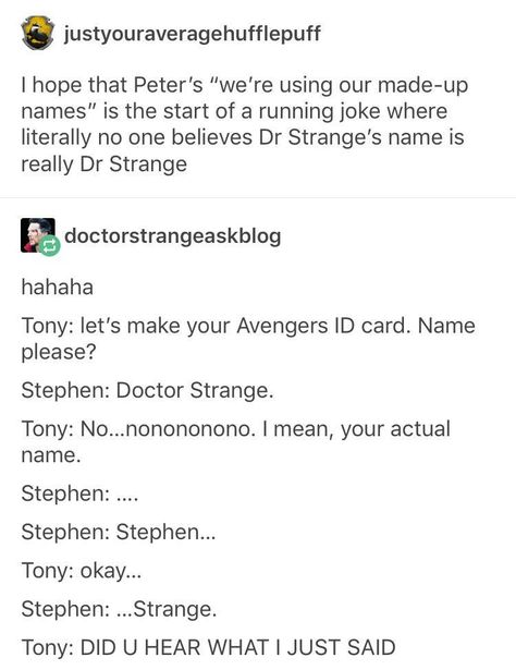 Spider-Man//Avengers//Marvel One shots - Real Name Please