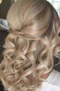 Best Wedding Hair inspiration with half up half down style 2019  ideas and photos #weddinghairstyles