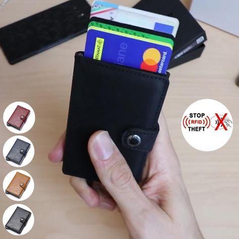 Paquet de Carte Pop-up avec Blocage RFID - Rouge