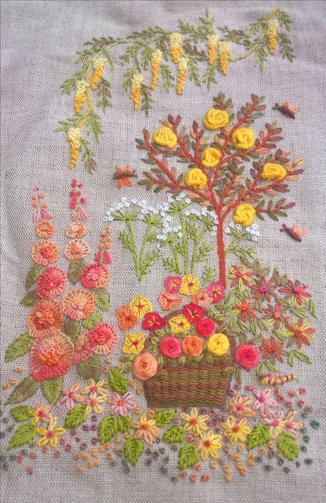 Modèle De Canevas Folies Embroidery