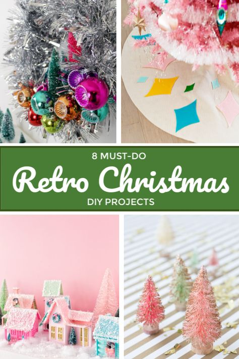 Retro Christmas DIY