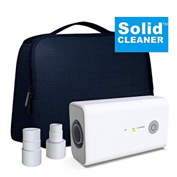 New Solidcleaner Cpap Cleaner And Sanitizer Bundle Includes Sanitizing Bag Cpap Cpap Accessories Cleaners