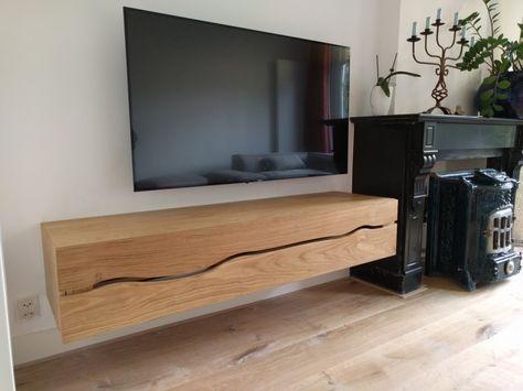 Massief Houten Tv Meubel.Tv Meubel Dressoir Wandkast Of Buffet Mooi Elegant Wandmeubel