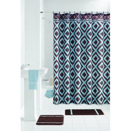 Home Bathroom Sets Shower Curtain Sets Curtains With Rings