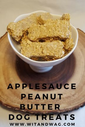 Applesauce Peanut Butter Treats That Your Dog Will Love Dog