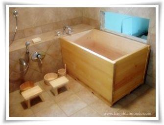 Vasca Da Bagno Ofuro : Ofuro antico rituale del bagno giapponese bagno