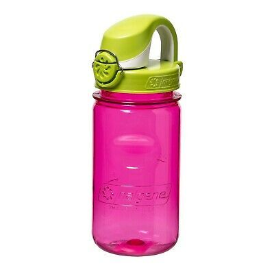 Pink//Green Grip-N-Gulp Water Bottle For Kids oz Nalgene 10  fl