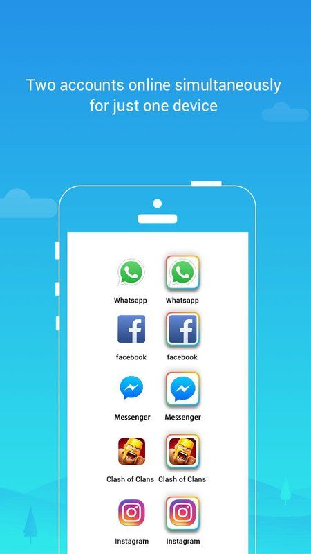 Parallel Space Multiple Accounts Two Face V4 0 8438 Apk With