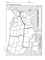 Blank Map Of Southeast United States : blank, southeast, united, states, States, Visit, Ideas, Capitals,, Grade, Social, Studies,, Studies