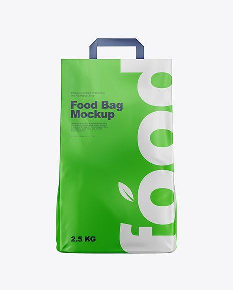 Download Matte Food Bag Mockup Front View In Bag Sack Mockups On Yellow Images Object Mockups Mockup Free Psd Bag Mockup Free Psd Mockups Templates