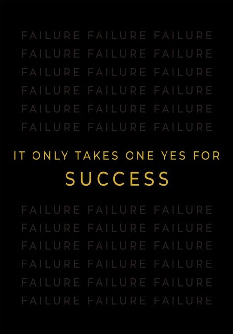 One Yes For Success Metal Poster Conceptual Photography Displate Conceptual Photography Success Poster Motivational Quotes For Success