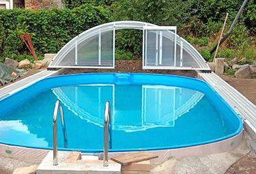 Aufbau Von Stahlwand Pools In 9 Schritten Lebenunterfreiemhimmel In 2020 Ovaler Pool Ovalpool Garten Pool Selber Bauen
