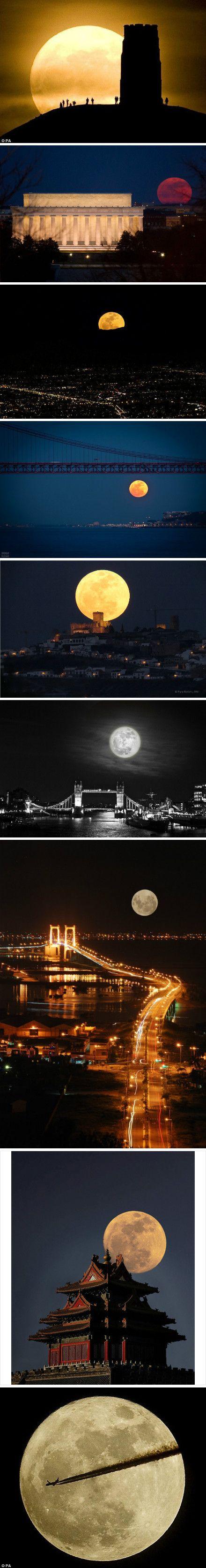 Supermoon around the World - May 5, 2012