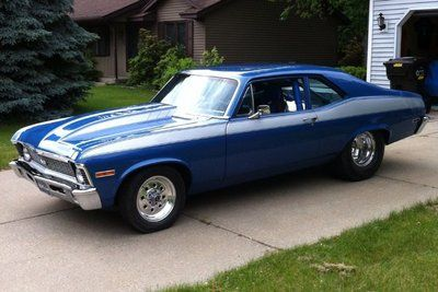Chevy Nova SS I'll always have a soft spot for the Novas since I had one as my first car.