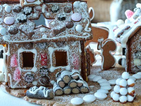 piparkakkutalo, piparkakkumökit, gingerbread house Kotivalossa