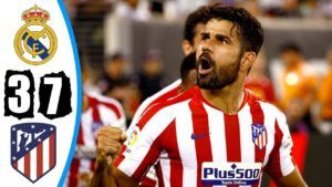 Atlético Madrid Humiliate Real Madrid In New York 7 3 All Goals Atlético Madrid Real Madrid Madrid