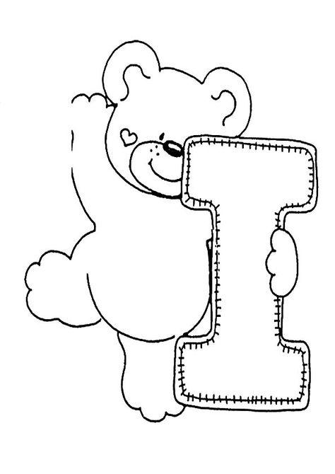 Ausmalbilder Buchstaben I Buchstabe I Ausmalbilder Buchstaben Schablone