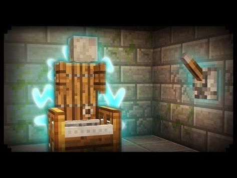 Minecraft How To Make A Working Electric Chair Youtube In 2020 Minecraft House Designs Minecraft Designs Minecraft