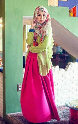 Long dress zaskia adya mecca