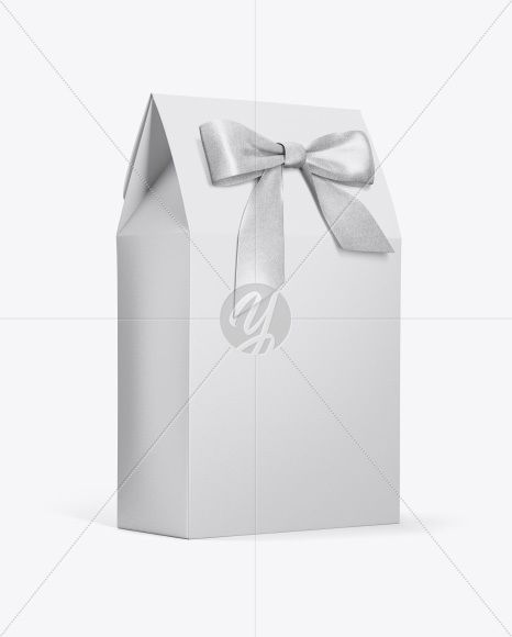 Download Paper Bag With Bow Mockup Half Side View In Bag Sack Mockups On Yellow Images Object Mockups Mockup Free Psd Psd Template Free Free Mockup