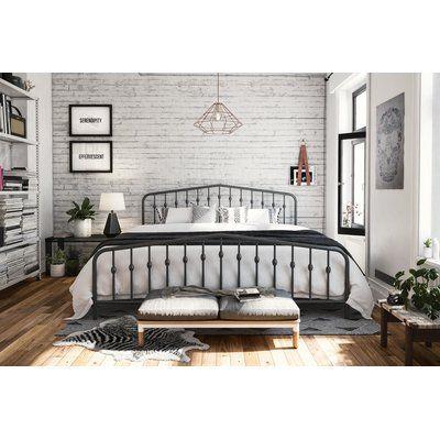 Novogratz Bushwick Platform Bed In 2020 Bedroom Frames