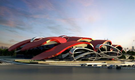 Fast Cars Meet Architecture in Marques & Jordy's Latest Showroom Design