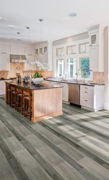 Coretec Plus Design Galaxy Kitchen Flooring Waterproof