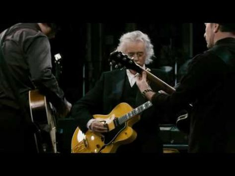 """taken from the documentary called ,,It might get loud""""   Jimmy Page,Jack White and The Edge playing ,,In my time of dying"""""""