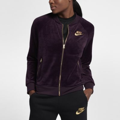 Nike Sportswear Women S Velour Jacket Nike Com Gb Giftryapp Nike Sportswear Women Jackets For Women Zip Jacket Women