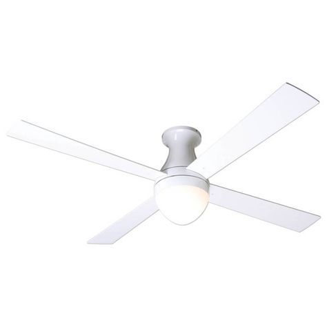 Ball Flushmount Ceiling Fan   Ceiling fan, Hugger ceiling