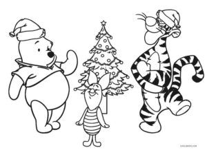 Free Printable Winnie The Pooh Coloring Pages For Kids Cool2bkids Disney Coloring Pages Christmas Coloring Printables Christmas Coloring Pages