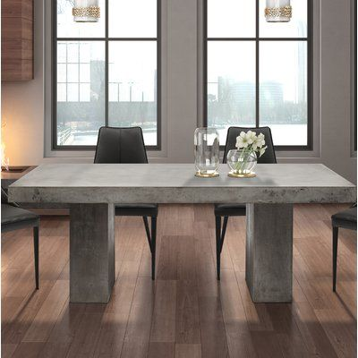 Greyleigh Clinchport Dining Table Grey Dining Tables Dining Room Table Decor Dining Table