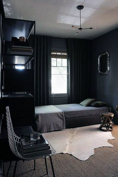 Techniques For Brightening A Dark Bedroom Mens Bedroom Decor