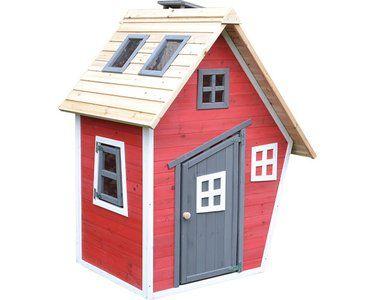 Spielhaus Rot 160 Cm X 83 8 Cm X 79 4 Cm Kaufen Bei Obi Spielhaus Haus Spielhauser