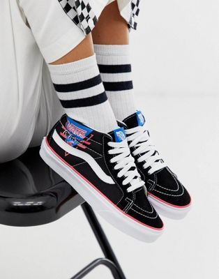 Vans SK8 Mid Reissue Design Assembly retro trainers in 2020