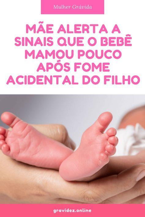 Mae Alerta A Sinais Que O Bebe Mamou Pouco Apos Fome Acidental Do