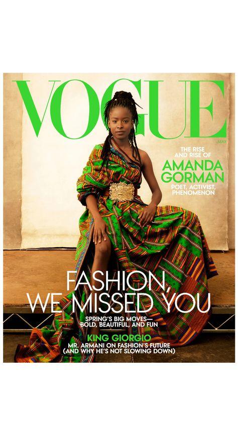 Amanda Gorman is Vogue's May 2021 cover star!