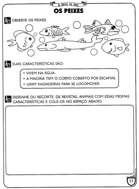 Sequencia De Atividades Com O Tema Arca De Noe E Animais Para