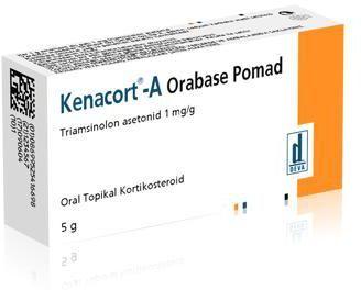 Kenacort A Orabase Pomad كيناكورت مرهم لعلاج اللثة وفطريات الفم Oral
